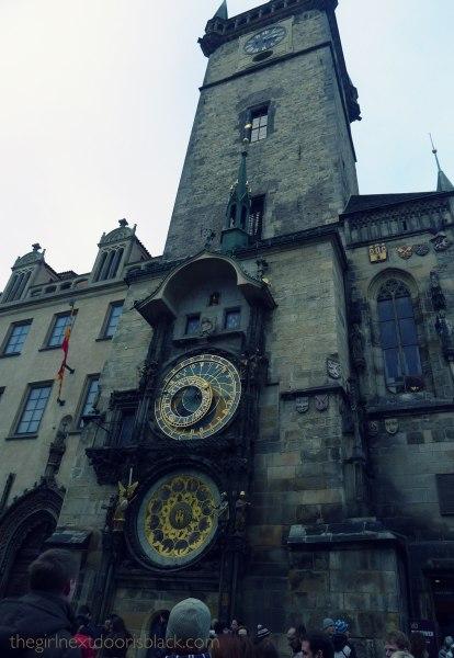 Astronomical Clock Prague | The Girl Next Door is Black