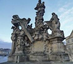 Statue of the Madonna Charles Bridge | The Girl Next Door is Black