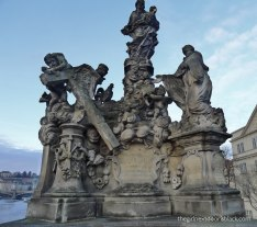 Statue of the Madonna Charles Bridge | The Girl Next Door is Black