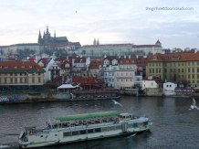 View from Charles Bridge Prague | The Girl Next Door is Black