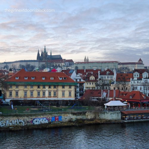 Prague from the Charles Bridge | The Girl Next Door is Black