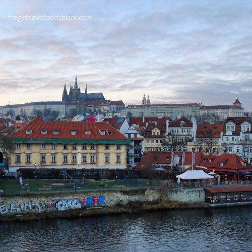 Prague from the Charles Bridge | The Girl Next Door is Black