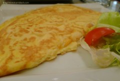 Omelet Au Gourmand Prague | The Girl Next Door is Black