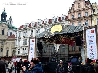Old Town Prague 2015 Stage | The Girl Next Door is Black