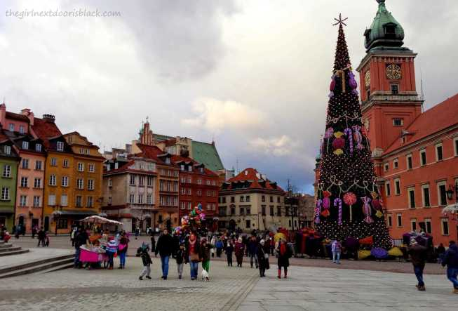 Royal Castle Old Town Market Place Warsaw Poland | The Girl Next Door is Black