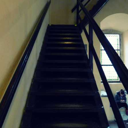 Steps in Lessor Town Bridge Tower Prague | The Girl Next Door is Black