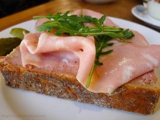 Open-Faced Italian Sandwich Być Może Warsaw   The Girl Next Door is Black