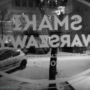 Smaki Warszawy Restaurant Snow   The Girl Next Door is Black