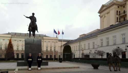 Warsaw Presidential Palace | The Girl Next Door is Black
