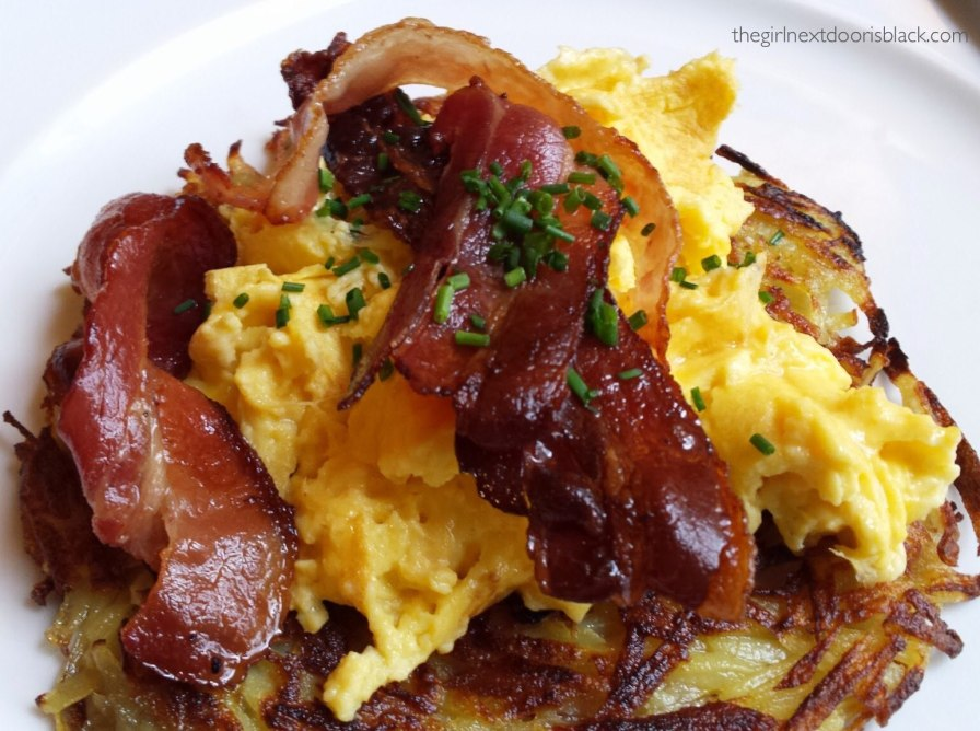 Literaturhaus eggs and bacon Berlin