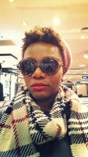 Keisha in Christian Dior sunglasses Berlin