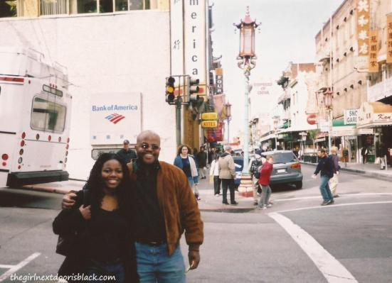 Father and Daughter in San Francisco | The Girl Next Door is Black