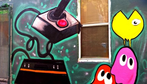 Atari - Pac Man - Mural in the Mission, San Francisco, CA