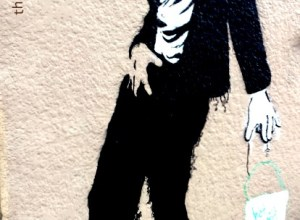 Michael Jackson Mural in Mission, San Francisco from The Girl Next Door is Black