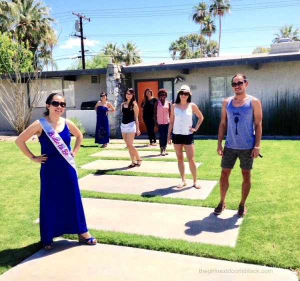 "From poolside underneath palm trees in the bright California sun, to fine dining at an award-winning restaurant, to a snowy nature to walk: Inside a fun-filled ""roaring 20s"" themed bachelorette weekend in Palm Springs - read more on The Girl Next Door is Black"