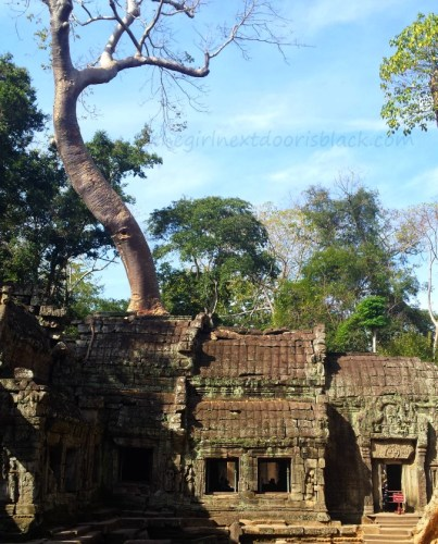 Siem Reap, Cambodia is home to many majestic ancient temples, including the awe-inspiring Angkor Wat | Read more on The Girl Next Door is Black