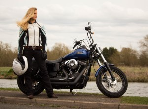 Full shot biker jeans helment jacket gloves