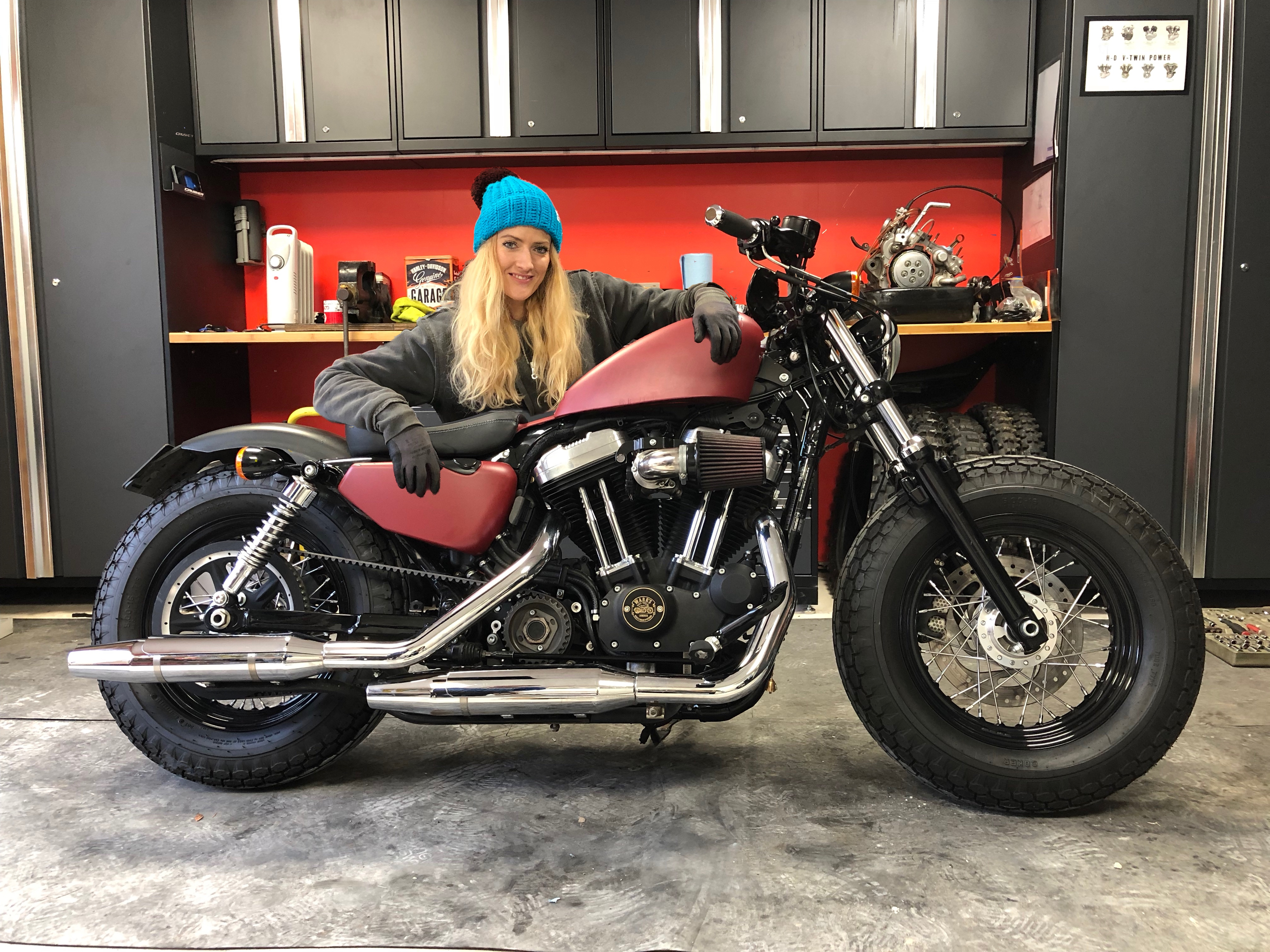 Click on the image to see my Forty-Eight Sportster parts & kit