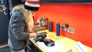 Harley-Davidson Sportster cam case customisation wash cam case thoroughly