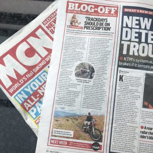 MCN column on motorcycle therapy and mental health
