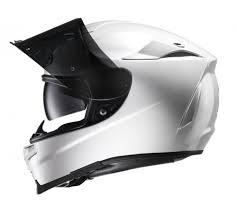 HJC RPHA 70 full face motorbike helmet white sunglasses