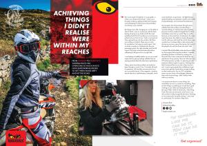 Q3 2019 Teng Tools Magazine UK Ireland The Girl On A Bike