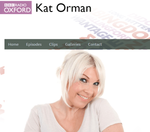 the girl on a bike bbc oxfordshire radio kat orman