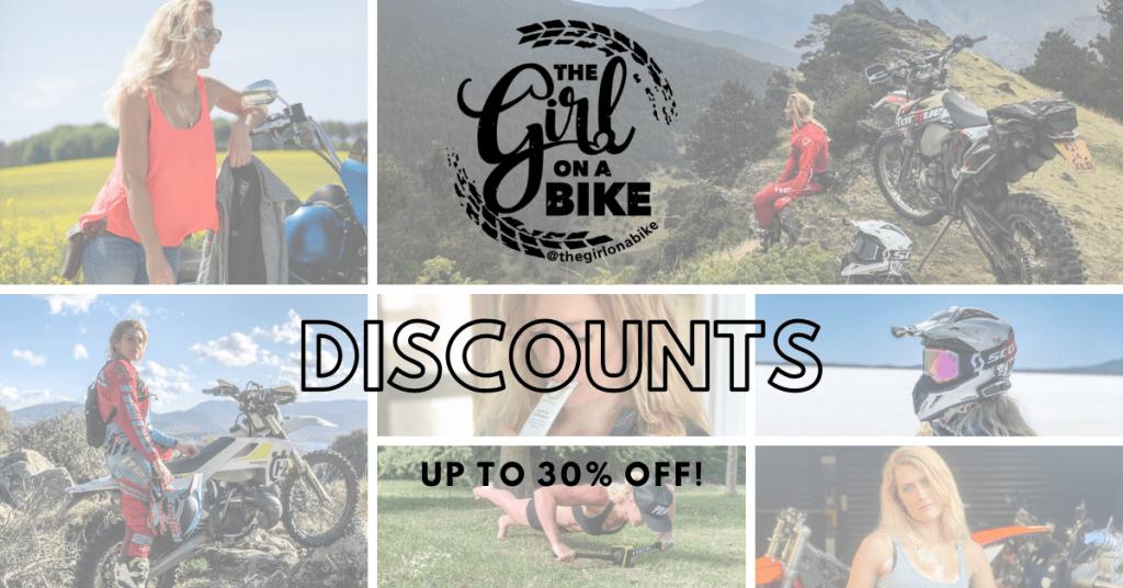The Girl On A Bike Discount codes