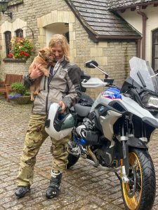 the girl on a bike bmw gs r 1250 rallye review