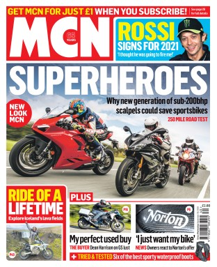 MCN cover Sept 30, 2020 - Vanessa Ruck