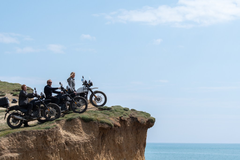 The girl on a bike superior motorcycle experiences dorset royal enfield himalayan 117