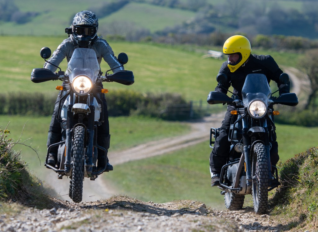 The girl on a bike superior motorcycle experiences dorset royal enfield himalayan 81