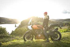 the girl on a bike harley davidson pan america first ride off road