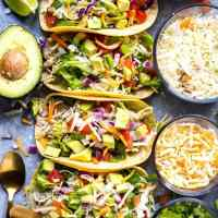Instant Pot Cilantro Lime Pulled Chicken Tacos