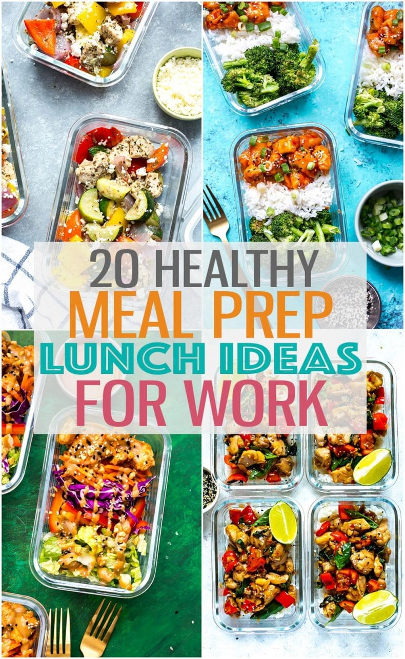 healthy meal prep lunch