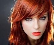 mid-length red hair - girls