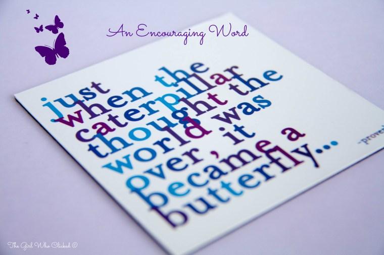 An Encouraging Word