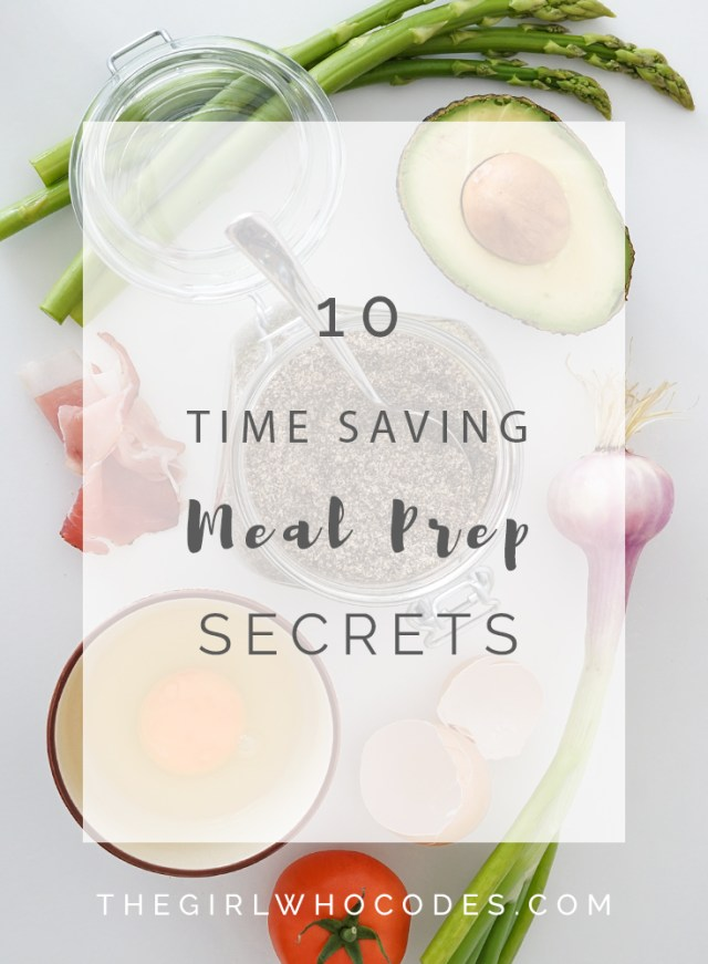 10 amazing meal prep secrets