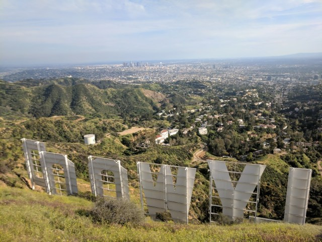 Hiking in LA - Mount Lee, Hollywood Sign