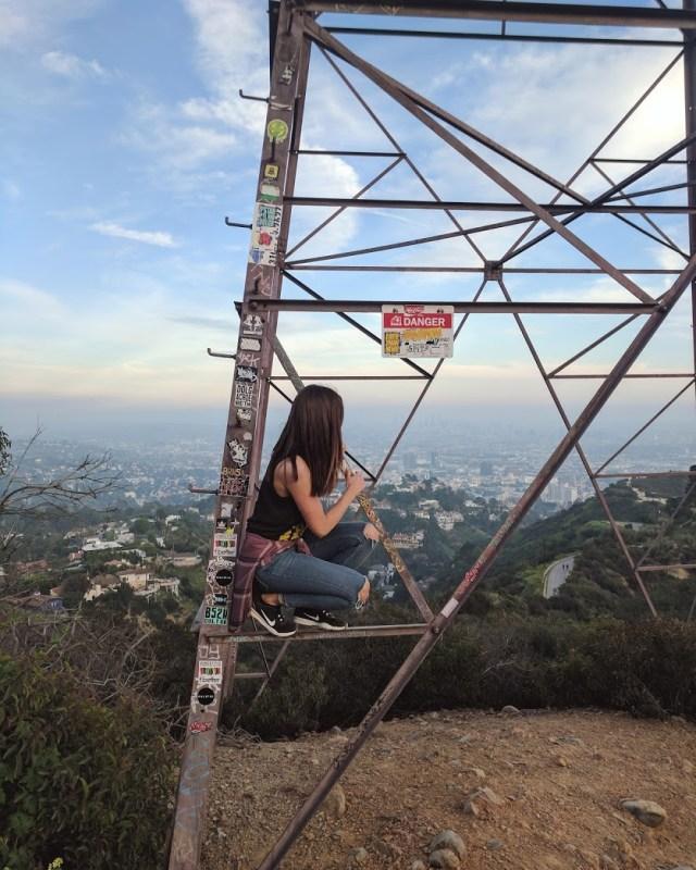Hiking in LA - Runyon Canyon