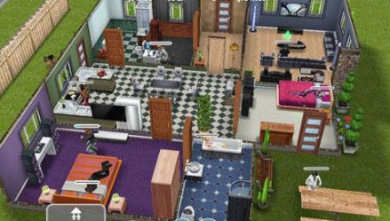 sims freeplay houses app mansion story guide ipad office bedroom