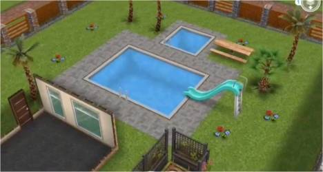 sims freeplay pool houses templates guide three story thegirlwhogames