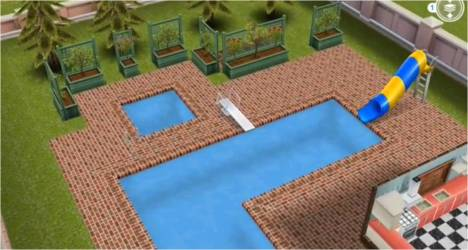 sims freeplay pool three templates houses guide story floor 2nd thegirlwhogames