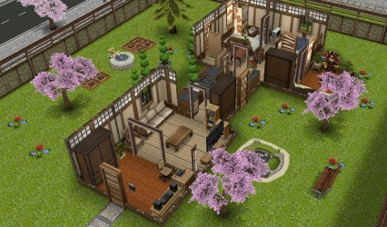 sims freeplay japanese houses retreat guide