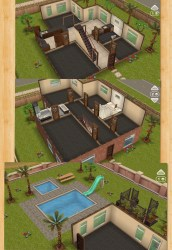 One Story Family One Story Sims Freeplay Houses