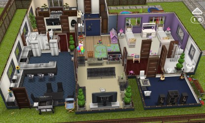 Sims Freeplay Family House Ideas