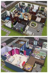sims freeplay houses games