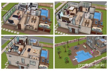 The Sims Freeplay House Guide Part Five Prize Houses The Girl Who Games