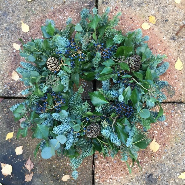 Buble Christmas Wreath