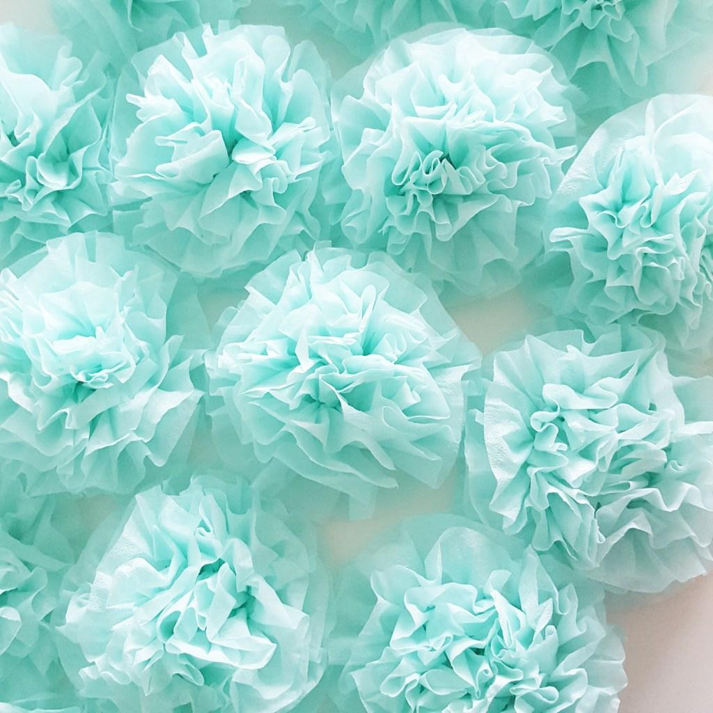 servietter fildet som roser
